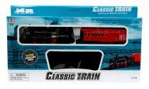 Vonatpálya - elemes - dobozban - 12 darabos - 48921
