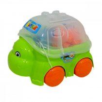 Épatőjáték, teknős, 12 db - 48962