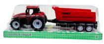 Traktor pótkocsival - dobozban  - 48992