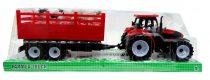 Traktor pótkocsival - állatszállító - dobozban  - 48994