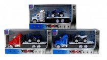 Kamion - motorszállító - dobozban- 48995