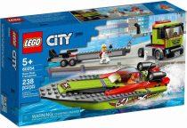 LEGO City 60254 Nagyszerű járművek Versenycsónak szállító - 49425