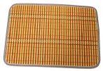 Alátét, bambusz+szövet, 29x42 cm - 70170