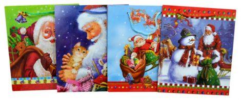 Karácsonyi ajándéktasak - 70235