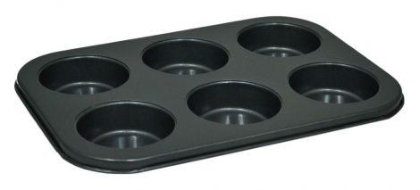 Sütőforma, 6 lyukas, fém - 70251