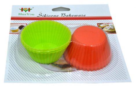 Muffin forma, szilikon, 6 db - 70294