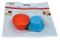 Muffin forma, szilikon, 6 db - 70295