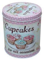 Süteményes doboz, fém - 70395