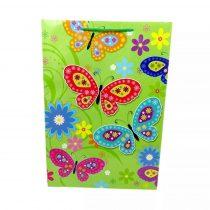 Papírtasak - pillangós - 70462