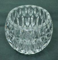 Üveg gyertyatartó, 10 cm - 70574