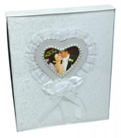 Esküvői fotóalbum, 10 x 15 cm, 200 képes - 70782
