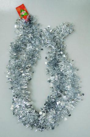 Boa csillagokkal - 2 méter - ezüst - 70800