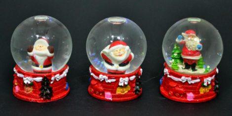 Havazógömb karácsonyi, 6 cm - 70891