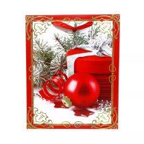 Papírtasak karácsonyi - 32 x 26 x 10 cm - 70944