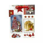Papírtasak karácsonyi - 23 x 17 x 9 cm - 70948