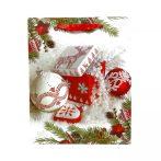 Papírtasak karácsonyi - 32 x 26 x 10 cm - 70949