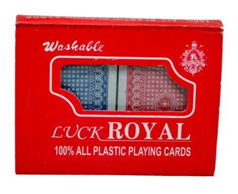 Francia kártya csomag, plasztik dobozban - 70985