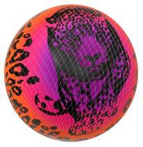 Gumilabda, párduc, szivárványos - 22 cm - 70998