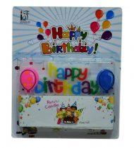 Happy birthday gyertya szett - 71110
