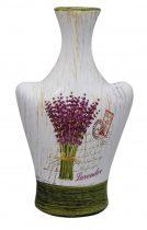 Váza Levendulás 23 cm - 71152