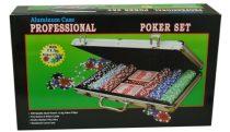 Póker szett 200db-os bőröndben - 71267