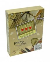 Fotóalbum - 10 x 15 cm - 200 képes - utazásos témájú - 71316
