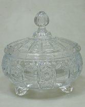 Bonbonier üveg - nagy méretű - 71673