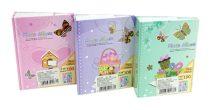 Fotóalbum - 10 x 15 cm - 100 képes - pillangós - 71815