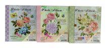 Fotóalbum - 10 x 15 cm - 80 képes - virágos - 71823