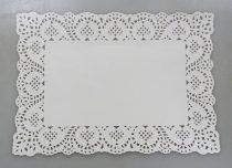 Tortaalátét - papír - 12 darabos csomag - 35 x 25 cm - 71840