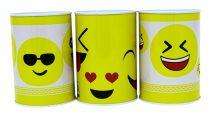 Persely - fém - kicsi - smiley / emoji / emoticon - 71885