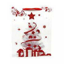 Papírtasak karácsonyi - 18 x 24 x 8 cm - 71901