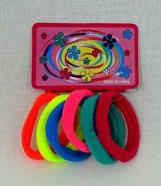 Hajgumi csomag - színes - 6 db - 71944