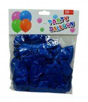 Lufi csomag - 50 db - 30 cm - kék - 71974