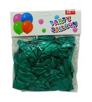 Lufi csomag - 50 db - 30 cm - zöld - 71978