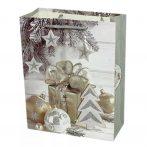 Papírtasak karácsonyi - 26 x 32 x 10 cm - 72033