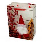 Papírtasak karácsonyi - 18 x 24 x 8 cm - 72039