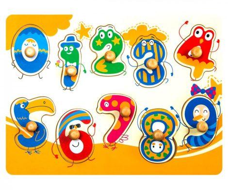 3D fa puzzle - bedugós számok - 81001