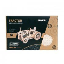 Robotime 3D fa puzzle - traktor - 81020