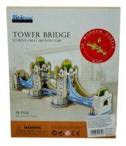 Robotime 3D fa puzzle - Tower híd - 81026