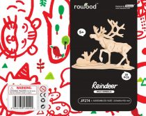 Robotime 3D fa puzzle rénszarvas - 81028