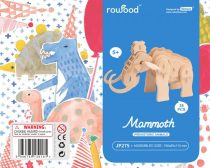 Robotime 3D fa puzzle mamut - 81029