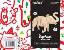 Robotime 3D fa puzzle elefánt - 81030