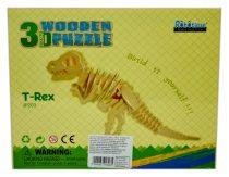 Robotime 3D fa puzzle dínó - T-rex - 81038