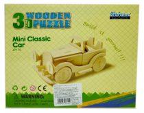 Robotime 3D fa puzzle klasszikus autó - 81054