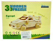 Robotime 3D fa puzzle sportkocsi - 81057