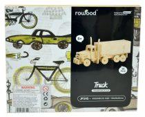 Robotime 3D fa puzzle kamion - pótkocsis  - 81060