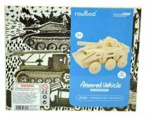 Robotime 3D fa puzzle harci jármű - 81064