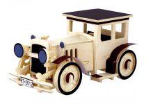 Robotime 3D fa puzzle klasszikus / retró / oldtimer autó - 81065