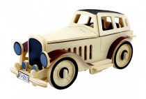 Robotime 3D fa puzzle klasszikus / retró / oldtimer autó - 81066